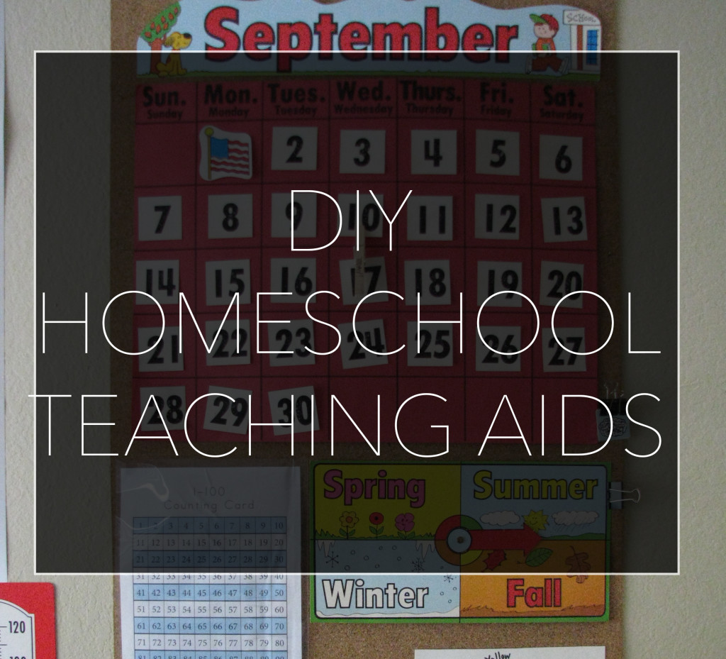 DIY Homeschool Teaching Aids